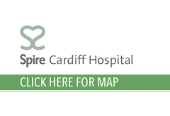 Spire Cardiff Hospital Map Location